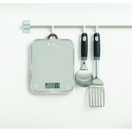 Cantar de bucatarie TEFAL Optiss BC5004, 5kg, argintiu [2]