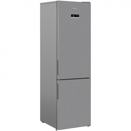 Combina frigorifica Arctic AK60406E40NFMT, 362 l, NoFrost, Display, Air Flow, Clasa E, H 202 cm, Argintiu [3]