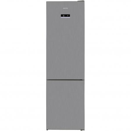 Combina frigorifica Arctic AK60406E40NFMT, 362 l, NoFrost, Display, Air Flow, Clasa E, H 202 cm, Argintiu [0]