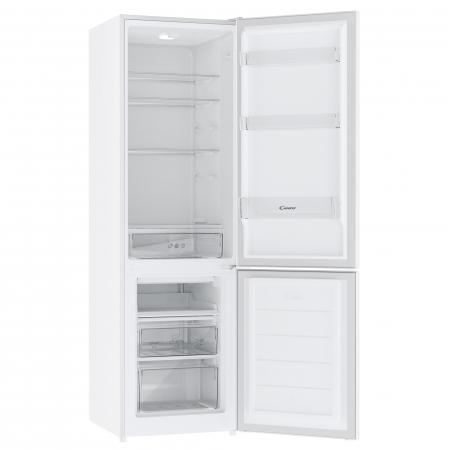 Combina frigorifica Candy CHICS 5182WN, 262l, Fresh zone, Clasa F, H 180 cm, Alb [2]