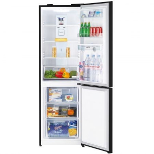 Combina frigorifica Daewoo RN-307RDQB, 305 l, Clasa A+, No Frost, Dispenser apa, Display Touch-Control, H 187 cm, Negru2