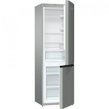 Combina frigorifica Gorenje RK611PS4 , FrostLess, 326 L,Clasa A+,H185 cm, gri