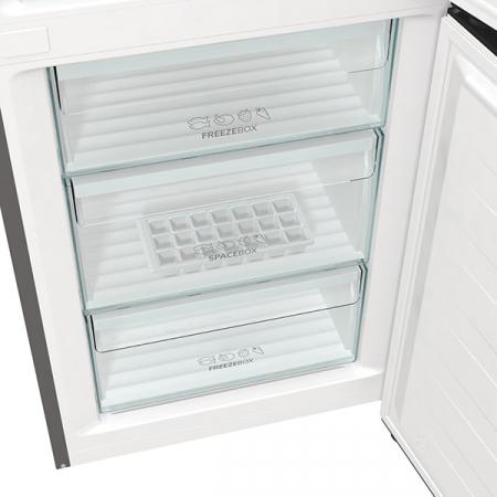 Combina frigorifica GORENJE NRK6191ES4, No Frost Plus, 302 l, H 185 cm, Clasa A+, argintiu [7]