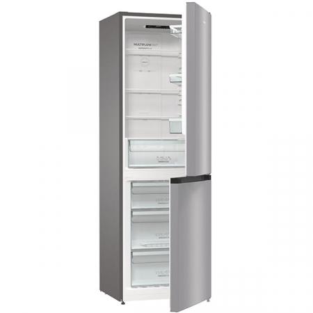 Combina frigorifica GORENJE NRK6191ES4, No Frost Plus, 302 l, H 185 cm, Clasa A+, argintiu [5]