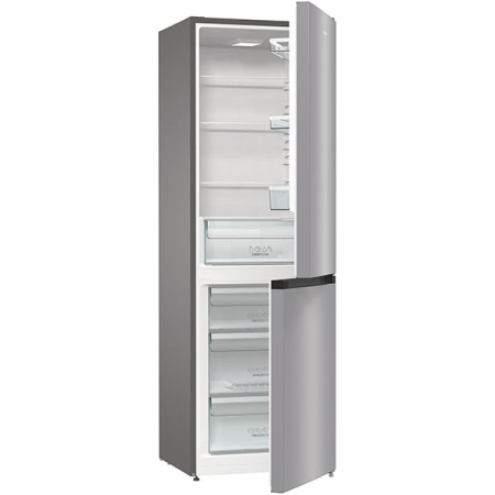 Combina frigorifica GORENJE RK6191ES4, FrostLess, 314 l, H 185 cm, Clasa A+, argintiu5