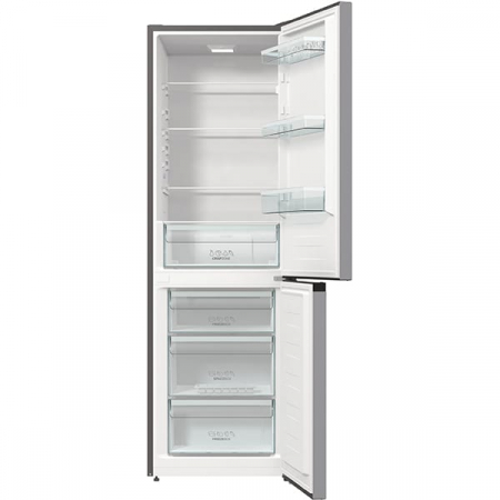 Combina frigorifica GORENJE RK6191ES4, FrostLess, 314 l, H 185 cm, Clasa A+, argintiu3