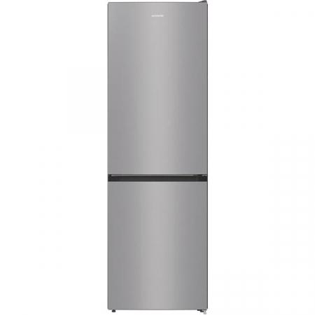 Combina frigorifica GORENJE RK6191ES4, FrostLess, 314 l, H 185 cm, Clasa A+, argintiu0
