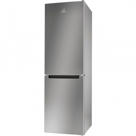 Combina frigorifica Indesit LR8 S1 S, 339 l, Clasa A+, H 187 cm, Silver0