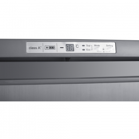 Congelator Heinner HFF-180NHXF+, 163 l, Clasa A+, 6 sertare, Control electronic, H 143 cm, Argintiu3