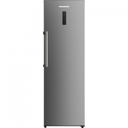 Congelator Heinner HFF-H270NFX+, 262 l, NoFrost, Display, Control electronic, 4 sertare, 2 rafturi, Clasa A+, Inox [0]