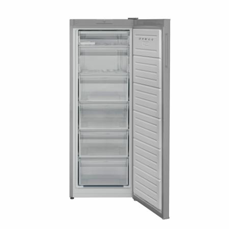 CONGELATOR HEINNER HFF-V188SF+, Clasa energetica: F, Capacitate totala: 188L, Control mecanic cu termostat ajustabil, 6 compartimente congelator, Usa reversibila, Capacitate congelare: 9.1kg/24h, Dime [1]