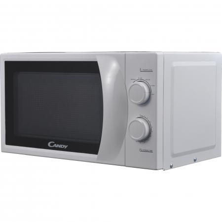 Cuptor cu microunde Candy CPMW 2070M, 20 l, 700 W, Defrost, Mecanic, Alb3