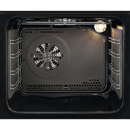 Cuptor incorporabil Zanussi ZOC25601XK, Electric, Autocuratare catalitica, 6 functii, 57 l, Clasa A, Convectie, Grill, Timer, Inox1