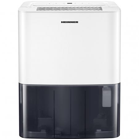 Dezumidificator Heinner HDU-M10, 10L/24h, control electronic, auto-restart, auto-oscilare, auto-dezghetare, timer 24h, 2.1L, maner, alb3