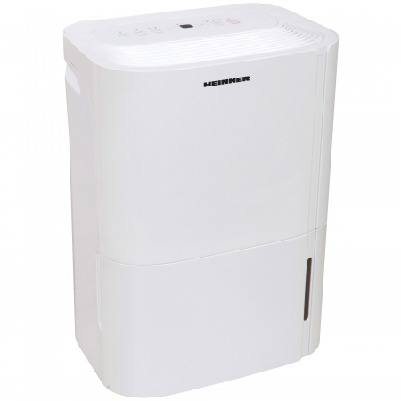 Dezumidificator Heinner HDU-M20, 20L/24h, control electronic, auto-restart, timer 24h, 3L, alb2