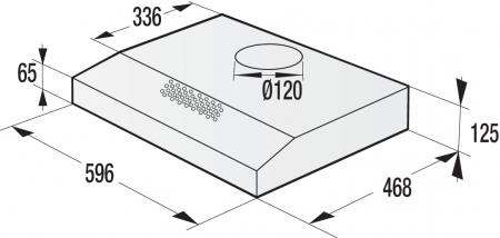 Hota bucatarie Gorenje WHU629ES/S, Clasa energetica B, Gama Essential, Silver3