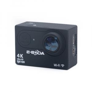 Camera video sport E-BODA SJ6100, 4K, Wi-Fi, rezistenta la apa