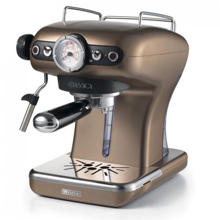 Espressor manual Ariete Classic, 1389 Bronz, Sistem cappuccino, 15 Bar [0]