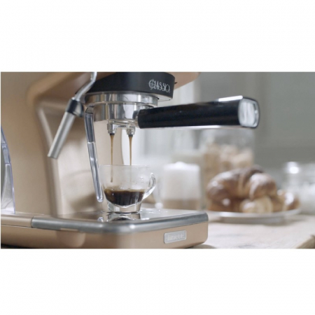 Espressor manual Ariete Classic, 1389 Bronz, Sistem cappuccino, 15 Bar [1]