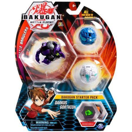 Figurine Bakugan Starter Pack - Darkus Gorthion0