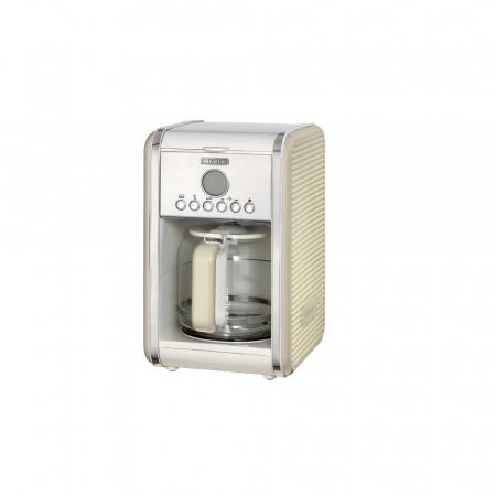 Filtru de cafea Ariete 1342 Vintage, 4-12 cesti, Display LCD, Crem / Beige [0]
