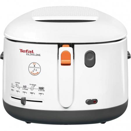Friteuza Tefal FF162131 Filtra One, coolwall, Termostat ajustabil, 1,2 kg, Alb [0]