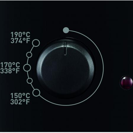 Friteuza Tefal Minicompact FF230831 Principio, 1000W, 0.6 Kg, 1.2L, termostat reglabil, Negru [3]