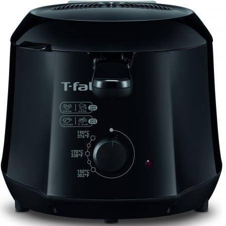 Friteuza Tefal Minicompact FF230831 Principio, 1000W, 0.6 Kg, 1.2L, termostat reglabil, Negru [2]