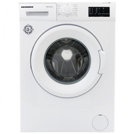 Masina de spalat rufe Heinner HWM-V7010A++, 7KG, 1000 RPM, Clasa A++, Ecran LED, Functie start intarziat, Sistem Eco Logic, 60 cm, Alb0