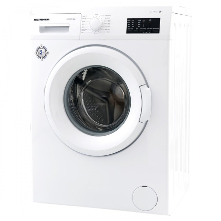 Masina de spalat rufe Heinner HWM-V7010A++, 7KG, 1000 RPM, Clasa A++, Ecran LED, Functie start intarziat, Sistem Eco Logic, 60 cm, Alb [1]