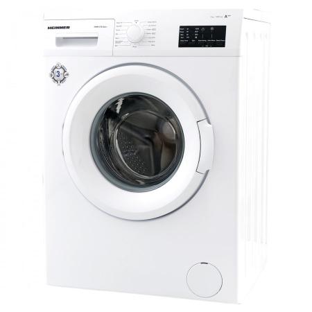 Masina de spalat rufe Heinner HWM-V7010A++, 7KG, 1000 RPM, Clasa A++, Ecran LED, Functie start intarziat, Sistem Eco Logic, 60 cm, Alb1