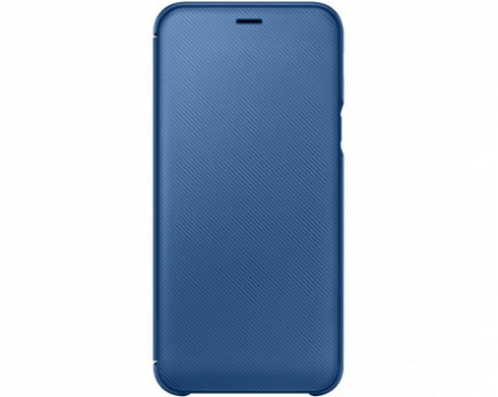 Husa Flip Wallet Samsung A6 2018 Blue [0]