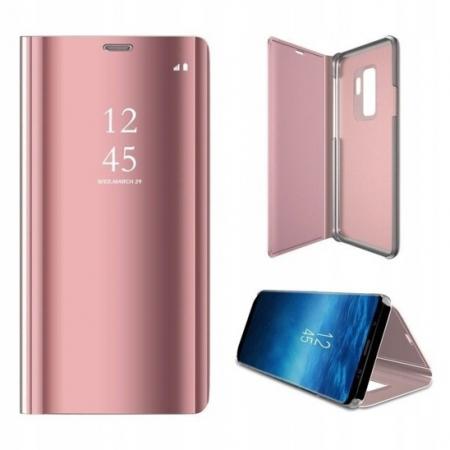Husa Samsung Galaxy A70 Clear View Pink [2]