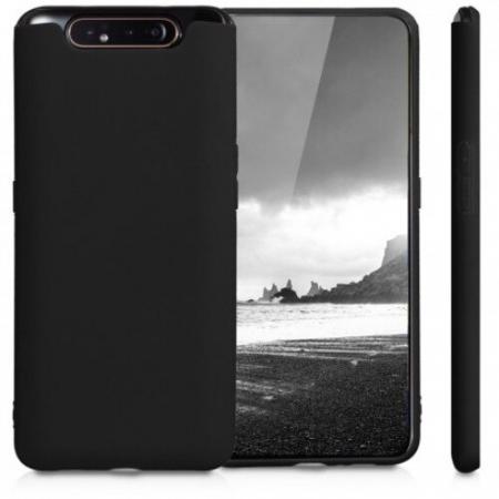 Husa Samsung galaxy a80, silicon, negru [1]