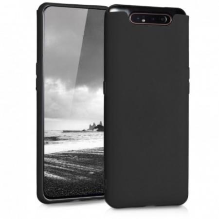 Husa Samsung galaxy a80, silicon, negru [0]