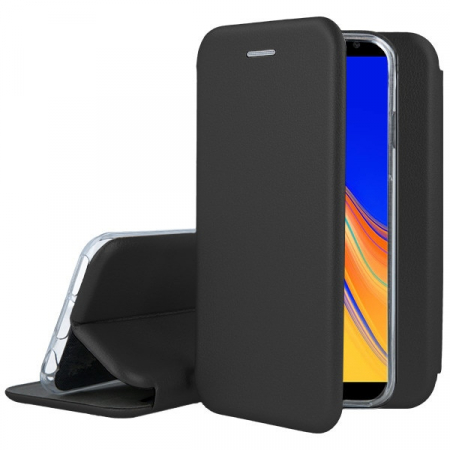 Husa Samsung Galaxy J4 Plus tip carte,neagra2