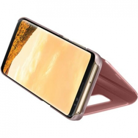 Husa Samsung Galaxy J5 2017 (J530) Clear View Rose Gold1