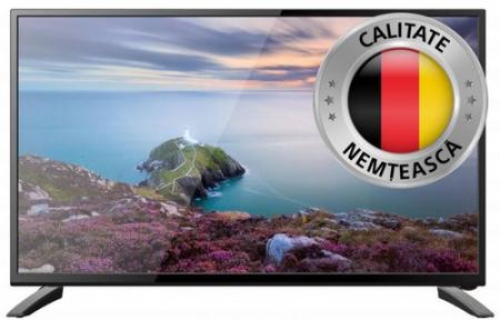 Televizor LED Schneider 61 cm 24SC410K, HD, Slot CI, Negru0