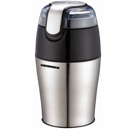 Rasnita de cafea Heinner HCG-150SS, 150 W, 50 g, Inox [0]