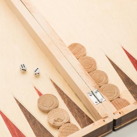 Joc de table si sah din lemn 26 x 26 [2]