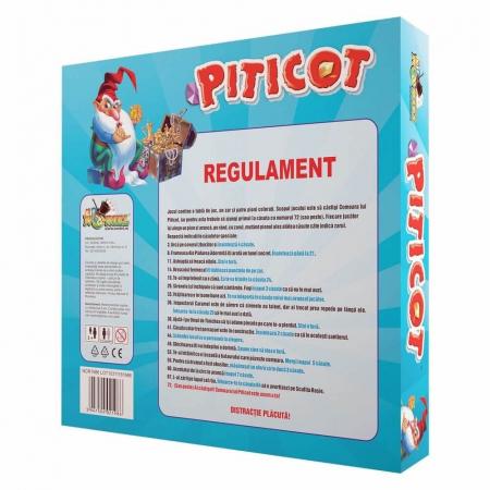 Joc educativ Comoara lui Piticot, 2-4 jucatori, 3 ani + [1]