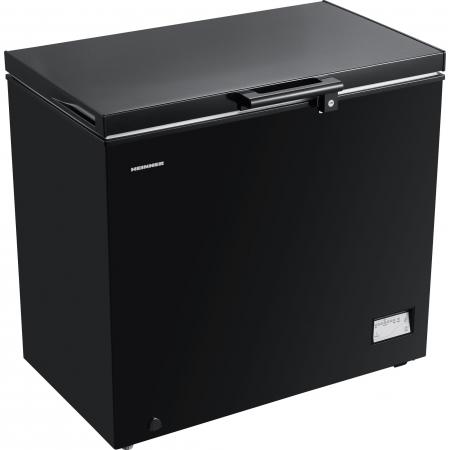 Lada frigorifica Heinner HCF-205NHBKF+, 200 l, Clasa A+, Control elecronic, Iluminare LED, Waterproof Display, Negru2