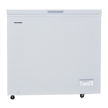Lada frigorifica Heinner HCF-205NHF +, 200 l, Control electronic, Ecran impermeabil, Clasa A +, Alb, Protectie iarna0