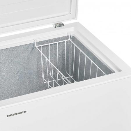 Lada frigorifica Heinner HCF-H145F+, 142 l, Clasa A+, Alb3
