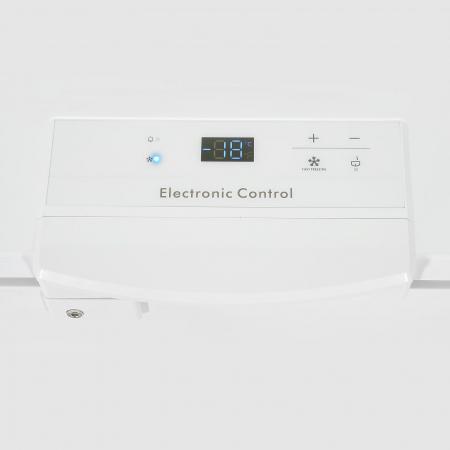 Lada frigorifica Heinner HCF-M200EE++, 200 l, Clasa A++, Display LED, Control electronic, Congelare rapida, Alb3