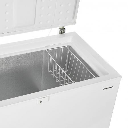 Lada frigorifica Heinner HCF-M250EE++, 250 l, Clasa A++, Display LED, Control elecronic, Congelare rapida, Alb [4]