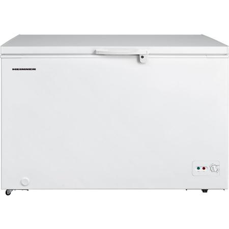 Lada frigorifica Heinner HCF-M362CA+, 359 l, Clasa A+, Sistem Convertibil Frigider/Congelator, Maner cu incuietoare, Alb0