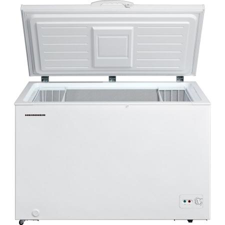Lada frigorifica Heinner HCF-M362CA+, 359 l, Clasa A+, Sistem Convertibil Frigider/Congelator, Maner cu incuietoare, Alb1