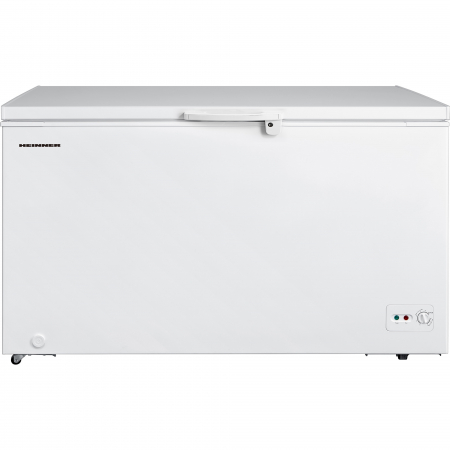 Lada frigorifica Heinner HCF-M418CA+, 418 l, Clasa A+, Sistem Convertibil Frigider/Congelator, Control mecanic, Winter Protection, Alb0