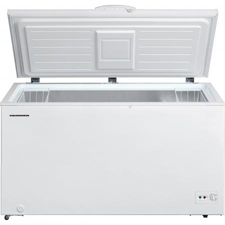 Lada frigorifica Heinner HCF-M418CA+, 418 l, Clasa A+, Sistem Convertibil Frigider/Congelator, Control mecanic, Winter Protection, Alb1